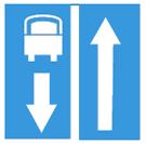 Đường có làn đường dành cho ôtô khách